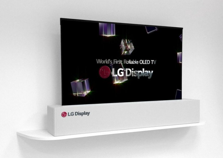 Lg tv enrollable